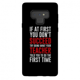 Galaxy Note 9  succeed teacher by