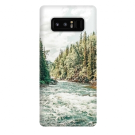 Galaxy Note 8  Zeel by  (digital manipulation, nature, landscape, river, creek, mountain, wildlife, pine trees, trees, water, waves, travel, adventure, camping, modern, scenic)