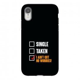 iPhone Xr  single taken no worries by