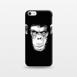iPhone 5C  Evil Monkey by Nicklas Gustafsson (monkey,ape,chimp,chimpanzee,animal,evil,grin,illustration)