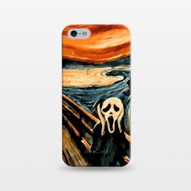 iPhone 5/5E/5s  The Scream by Mitxel Gonzalez
