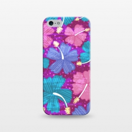 iPhone 5/5E/5s  Hawaii Surf by Kimrhi Studios (floral,tropical,flowers,hawaii,botanical,organic)