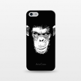 iPhone 5/5E/5s  Evil Monkey by Nicklas Gustafsson (monkey,ape,chimp,chimpanzee,animal,evil,grin,illustration)