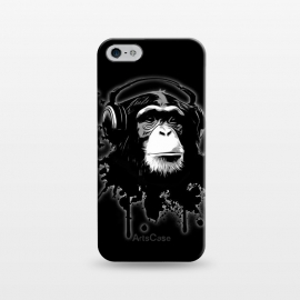 iPhone 5/5E/5s  Monkey Business - Black by Nicklas Gustafsson