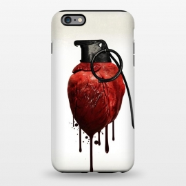 iPhone 6/6s plus  Heart Grenade by Nicklas Gustafsson (heart,grenade,love,war,peace,hate,blood,drips,symbolic)
