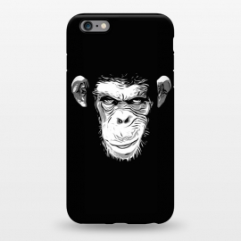 iPhone 6/6s plus  Evil Monkey by Nicklas Gustafsson (monkey,ape,chimp,chimpanzee,animal,evil,grin,illustration)