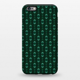 iPhone 6/6s plus  Geometric Tulips - green by Stefania Pochesci