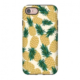 iPhone 8/7  Pineapples by Laura Grant