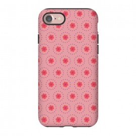 iPhone 8/7  Pink Circular Floral by Rosie Simons ()