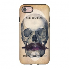 iPhone 8/7  SKULL ROCK THE WORLD OK by Diego Tirigall ()