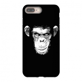 iPhone 8/7 plus  Evil Monkey by Nicklas Gustafsson (monkey,ape,chimp,chimpanzee,animal,evil,grin,illustration)