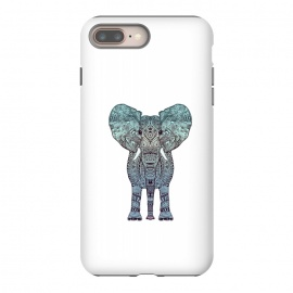 iPhone 8/7 plus  Elephant Blue by Monika Strigel ()