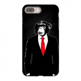 iPhone 8/7 plus  Domesticated Monkey by Nicklas Gustafsson (monkey,ape,chimp,chimpanzee,suit,tie,red,office,man,modern,worker,funny,cool,animal)