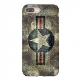 iPhone 8/7 plus  Airforce Roundel Retro by Bruce Stanfield
