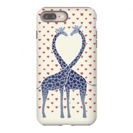 Giraffes in Love a Valentine's Day illustration by Micklyn Le Feuvre
