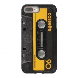 iPhone 8/7 plus  CASSETTE YELLOW by Diego Tirigall ()