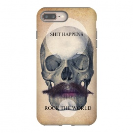 iPhone 8/7 plus  SKULL ROCK THE WORLD OK by Diego Tirigall ()
